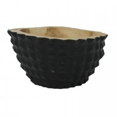 TRAY BERU CARVED BLACK MANGO