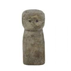 PRIMITIVE STONE STATUE TUA PLAIN BODY SMALL