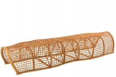 BENCH TUNNEL NATURAL RATTAN