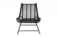 Goa Black Lounge Chair