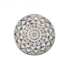 round bath mat