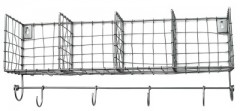 WIRE SHELF ZINK WITH HOOK 50