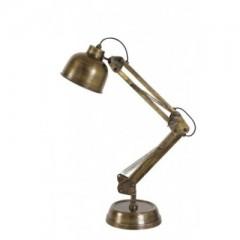 DESK LAMP ANTIQUE BURNED BRONZE