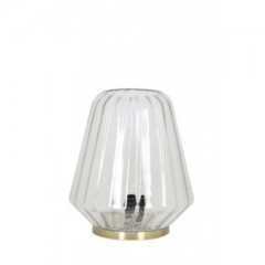 TABLE LAMP CLEAR GLASS
